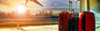 Matkalaukut lentokentällä