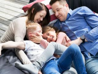 Tähtiterveys, perhe riippumatossa