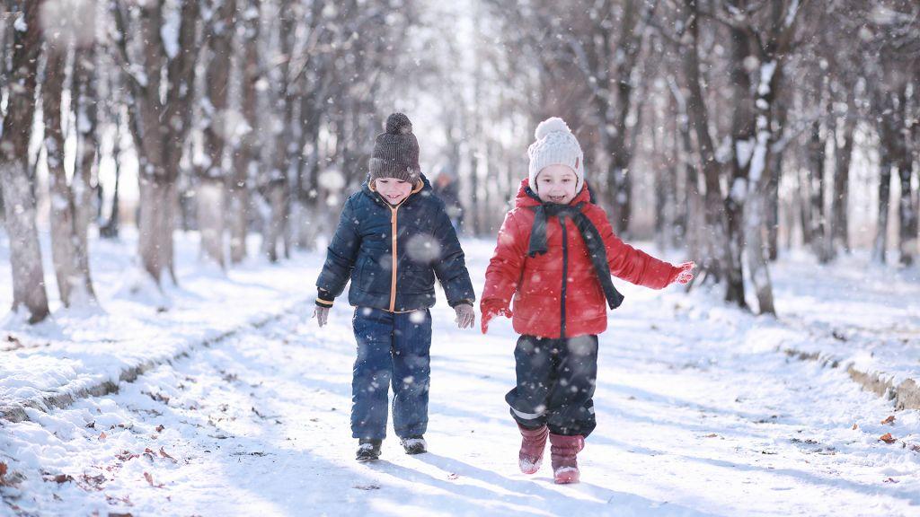 Pohjantähti talvi lapset